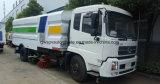 De Straat die van Dongfeng 9000m2 de Vrachtwagen van de Straatveger van 6000 L schoonmaken