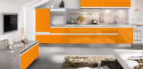 食器棚のための1.5mmの厚さの木製の穀物のステンレス鋼