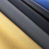 Мягкий шток кожи мебели софы PU синтетический дробит поставщика на участки