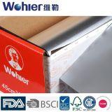 Устранимая бумага алюминиевой фольги для пакета или барбекю еды