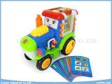 연구 결과, 시험, 음악, 반복 기능을%s 가진 장난감 트럭 삽입 카드 배우는 기계 교육 장난감