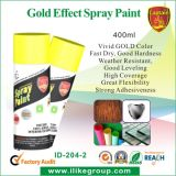 Peinture de jet de couleur d'or d'Aeropak 400ml