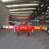 2 de Oplegger van het Skelet van assen 40feet voor Vervoer van de Container