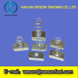 Steel inoxidable /Spring /Channel Nuts (Spring court Nut)