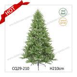 4-10 árbol de navidad plástico hecho a mano de las decoraciones LED de la Navidad del OEM del árbol de navidad del pie
