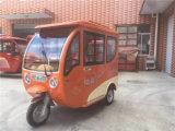 Alta calidad E del carrito de tres triciclo rueda para el mercado indio