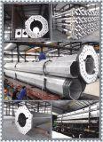 Unipolaire de télécommunication en acier galvanisé