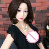 Billig 158cm volle Silikon-reizvolle Mädchen-Liebes-Puppe-lebensechte reale Geschlechts-Puppe für Männer