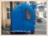 Ys-FT290 Blue 2.9m Mobile Kitchen Car Ice Cream Trailer com sistema de freio