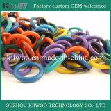 Verbinding van de O-ring van het Silicone van de Rang van het voedsel de Vlakke Rubber