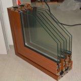 3 Spur-Aluminiumrahmen-Schiebetür, Fenster, Aluminiumfenster, Aluminiumfenster, Glastür K01094
