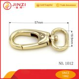Hight Qualität, die realen Goldbeutel-Form-Verschluss-Haken-/Hundeleine-Verschluss-Haken hängt