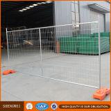 Frontière de sécurité provisoire de maille soudée par Au avec la pipe