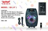 Диктор Temeisheng/Feiyang/Kvg дешево перезаряжаемые миниый Bluetooth ----Q3