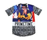 デザイン(T5051)の通り文化Hip Hop様式のバスケットボールのTシャツジャージー