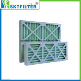 Panel gefalteter Filter mit Fiberglas-Material