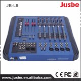 Jusbe Jb-L8 8 canaux Professioanl Power Audio Mixer avec USB Panton Power Supply