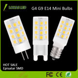 Luz de bulbo del maíz del poder más elevado E14 G4 G9 Epistar SMD LED