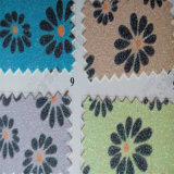 Floral Design Glitter Leather para Pacote Hw-473