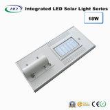 luz solar Integrated do jardim do diodo emissor de luz do sensor de 18W PIR