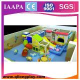 El área de juego mezclada embroma el patio de interior (QL-16-16)