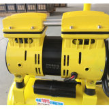 600W 9L de Dubbele Compressor van de Lucht van de Olie van de Cilinder Stille Vrije