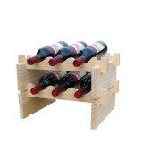 Présentoirs empilables de stand de mémoire de crémaillère modulaire empilable de vin