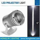 Schmales Strahlungswinkel-Licht 10W CREE-PFEILER LED Flutlicht