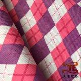 도비는 옥외 착용을%s PU 코팅을%s 가진 재생한 견주 직물을 인쇄했다