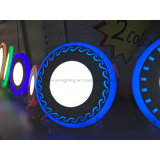 Light- del comitato del LED incastonato montato intorno ad un comitato 18+6W di due colori con il bordo blu dell'onda