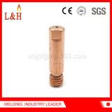 Accesorios de la soldadura de la extremidad del contacto de la soldadura de M6*25 Cucrzr con alta calidad