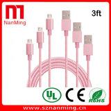 Datos micro de Sumsung al cable del cargador de la sinc. de los datos para la alta calidad