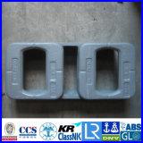 ABS Lr Gl Nk BV CCS аттестовал двойные Transversal поднятые учредительства ISO