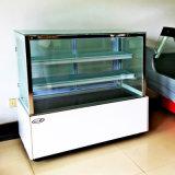 шкаф охладителя торта температуры длинней белой дуги 1200mm одиночный