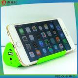 Weihnachtskühles Geschenk-Extraenergien-Bank für Iphones Shenzhen bestes verkaufenmobile 3 in 1 Bluetooth Lautsprecher mit Standplatz