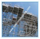 構築のためのセリウムによって修飾されるRinglockの足場タワー
