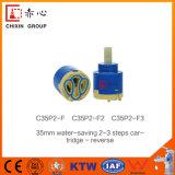 35mm 물 저축 카트리지 2-3 단계 믹서 꼭지
