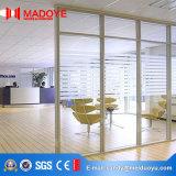 Porte isolante populaire de partition en verre pour l'usage de bureau