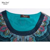 Dame-Form Abaya des Fräulein-You Ailinna 300631-2 weicher indischer Moslem-Kleid-Verteiler