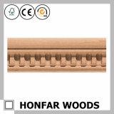 Le bois de hêtre solide de villas de l'Australie a découpé le moulage en bois avec le prix grand