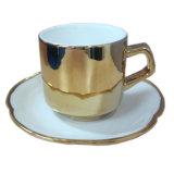 Tazze dell'oro e macchina della metallizzazione sotto vuoto degli articoli per la tavola