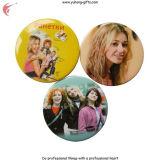 Divisa de la lata botón personalizado para regalos de promoción (YH-TB003)
