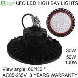 100W 고성능 LED 높은 만 점화
