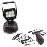 projector recarregável do diodo emissor de luz da luz à mão do trabalho 18W