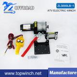 ATV elektrische nicht für den Straßenverkehr Handkurbel mit Montierungs-Platte (3000lb-1)