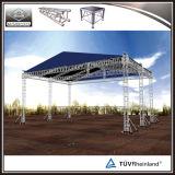 Aluminiumbeleuchtung-Aufsatz-Binder-System mit Dach-Kabinendach