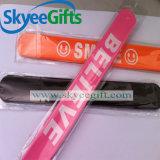 Горячий продавая подгонянный браслет силикона шлепка способа для подарка