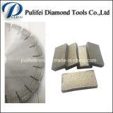 다이아몬드 쪼개지는 절단 사암 콘크리트를 위한 원형 화강암 잎 세그먼트