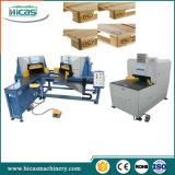 Linhas de produção de madeira automáticas da pálete