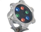 Buena luz ligera subterráneo del suelo del color LED de la calidad 7W 12V LED de la venta caliente sola
